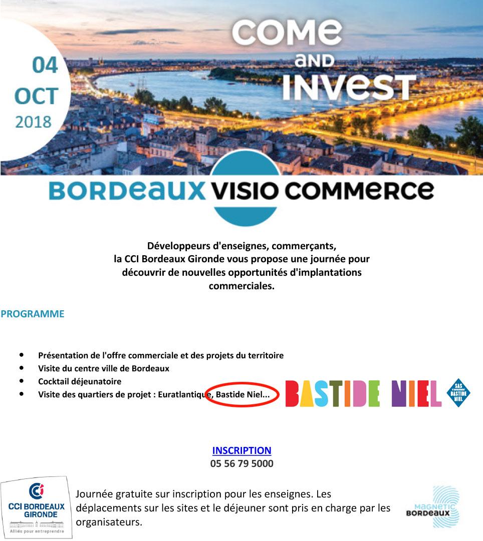 Visitez Bastide Niel avec Bordeaux Visio Commerce !