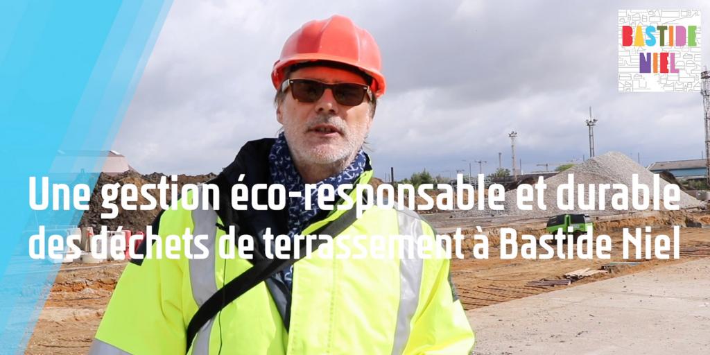 Bastide Niel : les déchets de terrassement valorisés en sol fertile