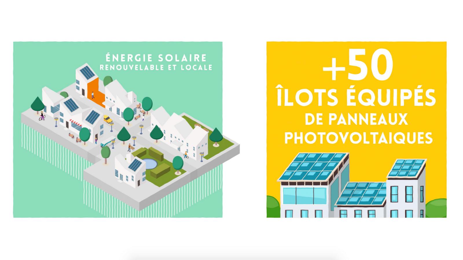 L'énergie solaire à Bastide Niel